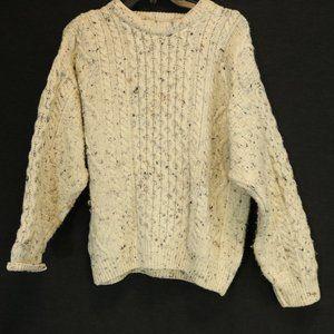Aran Crafts Ireland S 100% Wool Sweater